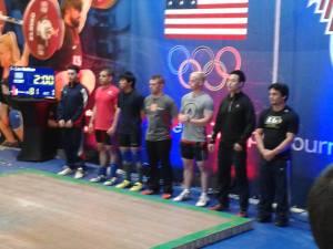 Matt Liao, 3rd from left