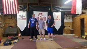 L-R: Justin Felderhoff, Ryan Self, Jeremy Rutledge